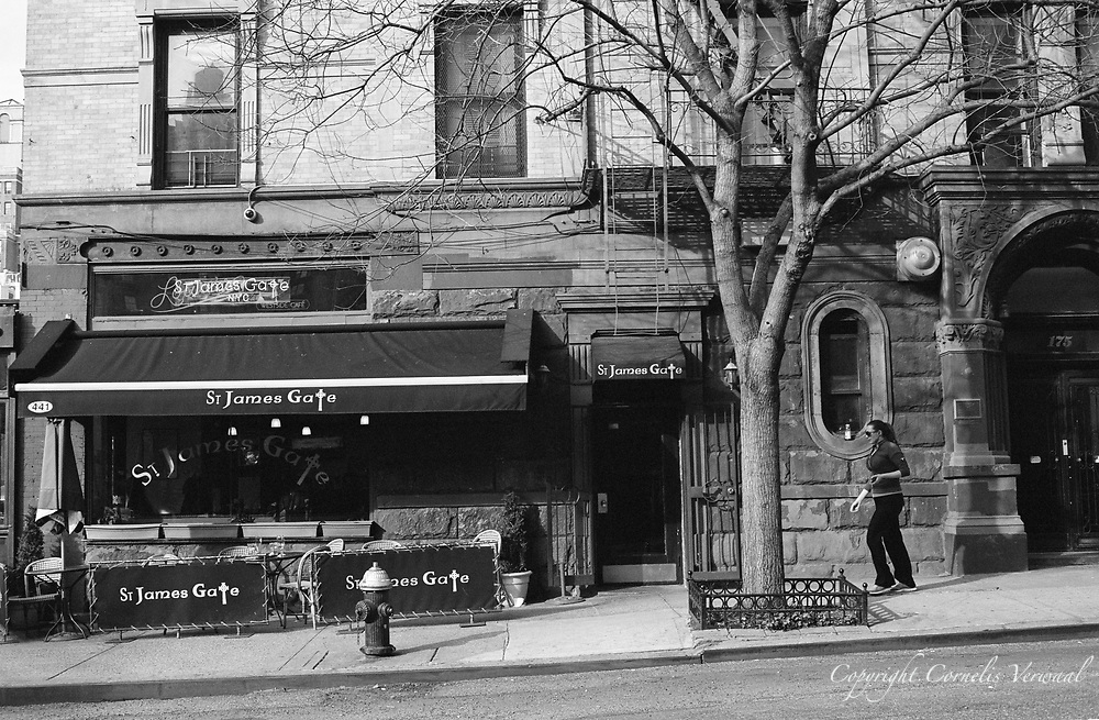 St. James Gate Cafe on Amsterdam Avenue and 81st street, New York City