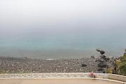 Bicycle Tourist, Ulleung-do Island, South Korea