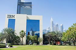 IBM office building at Dubai Internet City in United Arab Emirates UAE