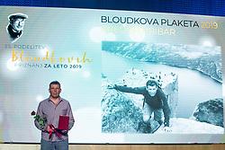 Gregor Hribar at 55th Annual Awards of Stanko Bloudek for sports achievements in Slovenia in year 2018 on February 4, 2020 in Brdo Congress Center, Kranj , Slovenia. Photo by Grega Valancic / Sportida