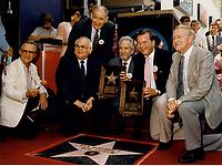 1986 Ken Minyard and Bob Arthur's Walk of Fame ceremony