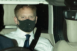 © Licensed to London News Pictures. 03/11/2020. London, UK. Secretary of State for Transport Grant Shapps arrives at the Foreign, Commonwealth and Development Office for a Cabinet Meeting.  Photo credit: George Cracknell Wright/LNP