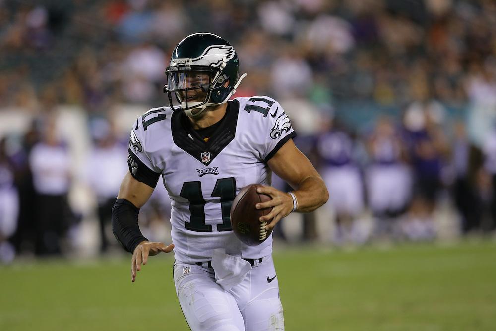 2015 Preseason - Tim Tebow; Baltimore Ravens vs Philadelphia Eagles at Lincoln Financial Field