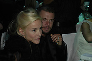 Daphne Guinness and Alexander Mcqueen, The 7th GQ Man of the Year Awards, Royal Opera House. 7 September 2004. In association with Armani Mania. SUPPLIED FOR ONE-TIME USE ONLY-DO NOT ARCHIVE. © Copyright Photograph by Dafydd Jones 66 Stockwell Park Rd. London SW9 0DA Tel 020 7733 0108 www.dafjones.com