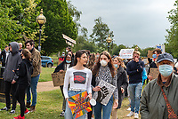 Black Lives Matter Peaceful Protest Stratford Upon Avon photo by Mark Anton Smith