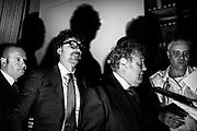 Danilo Toninelli (second from left). Rome 26 September 2018. Christian Mantuano / OneShot