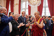 HHDL in City Hall