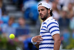 Spain's Feliciano Lopez during day six of the 2017 AEGON Championships at The Queen's Club, London.
