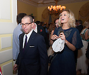 JONATHAN NEWHOUSE; LEAH DE WAVRIN, Tatler magazine Jubilee party with Thomas Pink. The Ritz, Piccadilly. London. 2 May 2012