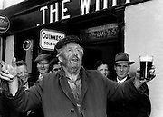 A reveller at Puck Fair in the 1950's.<br /> Photo: Harry MacMonagle