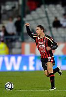 FOOTBALL - FRENCH CHAMPIONSHIP 2010/2011 - L1 - AJ AUXERRE v OGC NICE - 30/10/2010 - PHOTO GUY JEFFROY / DPPI - CYRIL HENNION (NICE)