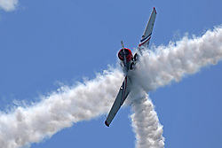 May 6, 2018 - Fort Lauderdale, FL, USA - The Geico Skytypers perform at the Fort Lauderdale Air Show at Fort Lauderdale Beach on Sunday, May 6, 2018. The show features some of the nation's most popular military jet demonstrations, parachute teams, civilian aerobatic acts and formation flight teams. (Credit Image: © John Mccall/TNS via ZUMA Wire)