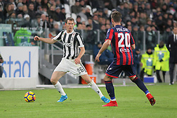 November 26, 2017 - Turin, Piedmont, Italy - Stephan Lichtsteiner (Juventus FC) during the Serie A football match between Juventus FC and FC Crotone at Allianz Stadium on 26 November, 2017 in Turin, Italy. (Credit Image: © Massimiliano Ferraro/NurPhoto via ZUMA Press)