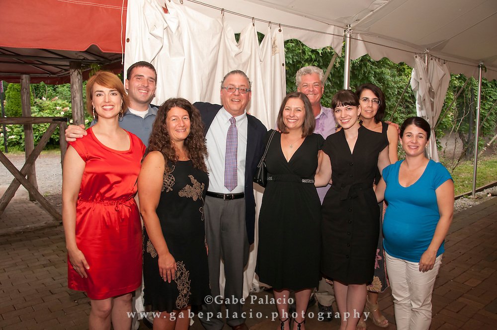 20 year anniversary party for Paul Rosenblum in the Reception Tent at Caramoor on July 13, 2012..photo by Gabe Palacio