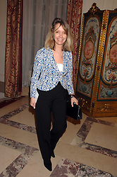 SABRINA GUINNESS at a party to celebrate the publication of The End of Sleep by Rowan Somerville held at the Egyptian Embassy, London on 27th March 2008.<br />