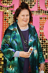 © Licensed to London News Pictures. 29/06/2016. SUZY MENKES attends the ABSOLUTELY FABULOUS world film premiere. London, UK. Photo credit: Ray Tang/LNP