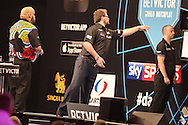 James Wade during the First Round of the BetVictor World Matchplay Darts at the Empress Ballroom, Blackpool, United Kingdom on 19 July 2015. Photo by Shane Healey.