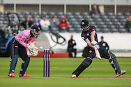Ian Cockbain of Gloucestershire during the NatWest T20 Blast South Group match between Gloucestershire County Cricket Club and Middlesex County Cricket Club at the Bristol County Ground, Bristol, United Kingdom on 15 May 2015. Photo by Shane Healey.