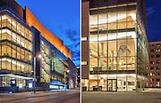 Architecture Photography: Maison Symphonique de Montreal by architects Diamond Schmitt Architects, Downtown Montreal, Quebec, Canada