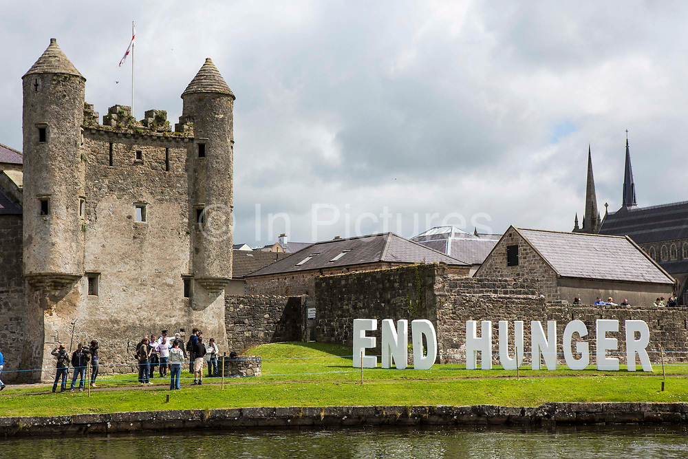 The Enough Food for Everyone IF campaign launches a flotilla of viking rowing boats calling on the G8 leaders to help end to tax dodging so families can feed themselves in the future.