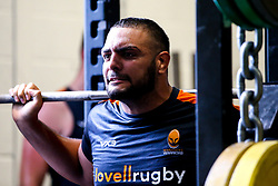 Kai Owen of Worcester Warriors during preseason training ahead of the 2019/20 Gallagher Premiership Rugby season - Mandatory by-line: Robbie Stephenson/JMP - 06/08/2019 - RUGBY - Sixways Stadium - Worcester, England - Worcester Warriors Preseason Training 2019
