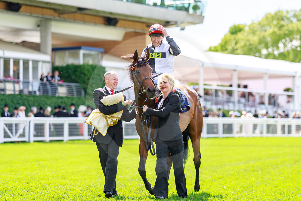 Star Catcher (F. Dettori) wins The Ribblesdale Stakes Gr.2 at Royal Ascot, 20/06/2019, photo: Zuzanna Lupa