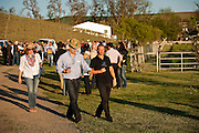 Guests at Spring Valley Vineyard event.