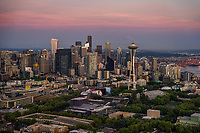 Downtown Seattle & Space Needle
