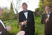 STEPHEN FRY, The Ormeley dinner in aid of the Ecology Trust and the Aspinall Foundation. Ormeley Lodge. Richmond. London. 29 April 2009