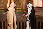 Sanedrin speaks with Jesus