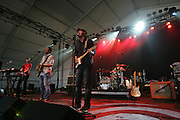 """""""What Made Milwaukee Famous"""" performs during the first day of the 2008 Bonnaroo Music & Arts Festival on June 12, 2008 in Manchester, Tennessee. The four-day music festival features a variety of musical acts, arts and comedians..Photo by Bryan Rinnert"""