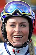 Lindsey Vonn anlässlich des Audi FIS Ski World Cups 2018 der Frauen in Lenzerheide