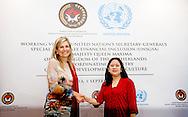 2016/01/09 JAKARTA - Koningin Maxima ontmoet Mrs Puan Makarani van het Minister human development and culture  bezoeken op Donderdag, 1 september tot 1 donderdag, september, de Republiek Indonesië in haar rol van speciale pleitbezorger van de secretaris-generaal van de Verenigde Naties voor Inclusive Finance for Development. COPYRIGHT ROBIN UTRECHT NETHERLANDS ONLY <br /> 1-9-2016 JAKARTA  - Queen Maxima  meets president indonesia  Joko Widodo Queen Maxima visit on thurday , 1 september to Thursday, September 1st, the Republic of Indonesia in its role of special advocate of the Secretary-General of the United Nations for Inclusive Finance for Development. COPYRIGHT ROBIN UTRECHT NETHERLANDS ONLY