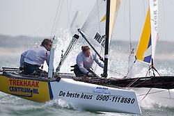 Third day of the Delta Lloyd North Sea Regatta, Scheveningen, the Netherlands, May 19th 2013.