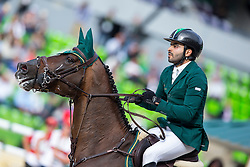 HH Prince Faisal Al Shalan, (KSA), Talan - Team & Individual Competition Jumping Speed - Alltech FEI World Equestrian Games™ 2014 - Normandy, France.<br /> © Hippo Foto Team - Leanjo De Koster<br /> 02-09-14