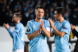 February 14, 2019 - MalmÃ, Sweden - 190214 Markus Rosenberg of Malmö FF recognizes the audience after the Europa league match between Malmö FF and Chelsea on February 14, 2019 in Malmö..Photo: Ludvig Thunman / BILDBYRÃ…N / kod LT / 92225 (Credit Image: © Ludvig Thunman/Bildbyran via ZUMA Press)