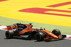 May 14, 2017 - Barcelona, Spain - Motorsports: FIA Formula One World Championship 2017, Grand Prix of Spain, .#14 Fernando Alonso (ESP, McLaren Honda) (Credit Image: © Hoch Zwei via ZUMA Wire)