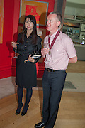 GILLIAN WEARING; MICHAEL LANDY, Royal Academy of Arts Annual dinner. Piccadilly. London. 29 May 2012.