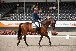 Hosmar Frank, NED, Alphaville NOP<br /> Nederlands Kampioenschap Dressuur <br /> Ermelo 2018<br /> © Hippo Foto - Dirk Caremans<br /> 29/07/2018