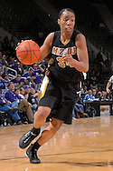 Missouri guard Tiffany Brooks drives to the basket during the first half against Kansas State at Bramlage Coliseum in Manhattan, Kansas, January 13, 2007.  K-State beat the Tigers 81-66.