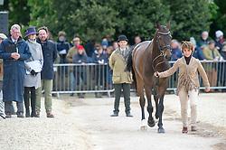 Hoy Bettina, (GER), Designer 10<br /> First Horse Inspection - Mitsubishi Motors Badminton Horse Trials <br /> Badminton 2015