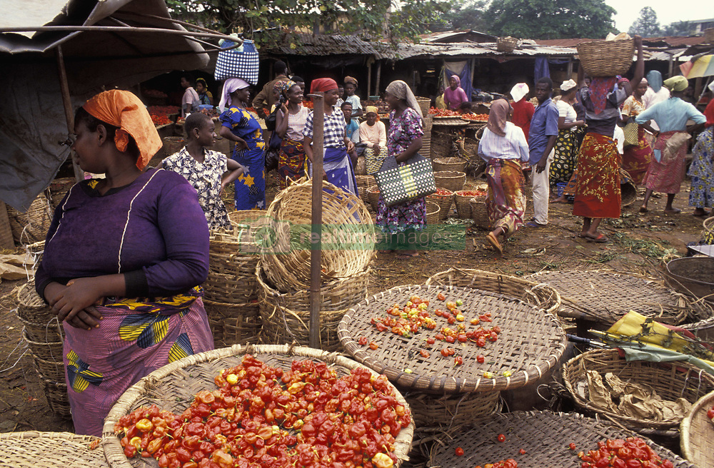 September 29, 2009: Vegetable Market; Nigeria (Credit Image: © James Morris/Design Pics via ZUMA Wire)