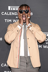 Rapper Lil Yachty attends the Pirelli Calendar 2018 Launch Gala at The Manhattan Center in New York, NY, on November 10, 2017. (Photo by Anthony Behar/Sipa USA)