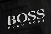Sign for high end fashion and exclusive brand Hugo Boss.