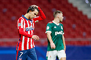 Joao Felix of Atletico de Madrid during the UEFA Champions League, Group A football match between Atletico de Madrid and Lokomotiv Moskva on november 25, 2020 at Wanda Metropolitano stadium in Madrid, Spain - Photo Oscar J Barroso / Spain ProSportsImages / DPPI / ProSportsImages / DPPI