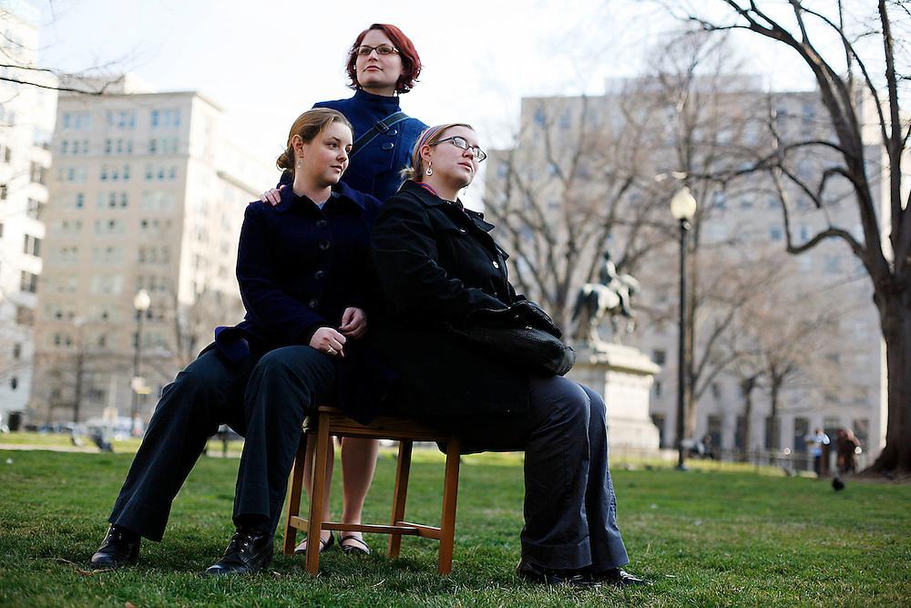 Kelly Behre, Amanda Looer, Julia Strange; American Bar Association