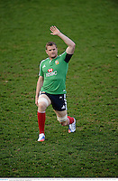 10 June 2013; Jamie Heaslip, British & Irish Lions, during the captain's run ahead of their game against Combined Country on Tuesday. British & Irish Lions Tour 2013, Captain's Run, Number 2 Sports Ground, Newcastle, NSW, Australia. Picture credit: Stephen McCarthy / SPORTSFILE
