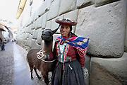 Indigenous woman  Cusco, Peru