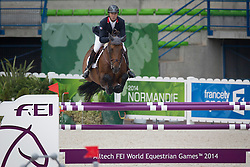 Patrice Delaveau, (FRA), Orient Express HDC - Jumping Second Round Team Competition - Alltech FEI World Equestrian Games™ 2014 - Normandy, France.<br /> © Hippo Foto Team - Dirk Caremans<br /> 04/09/14