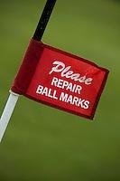 WIMEREUX - Vlag Please repair ball marks, Copyright Koen Suyk